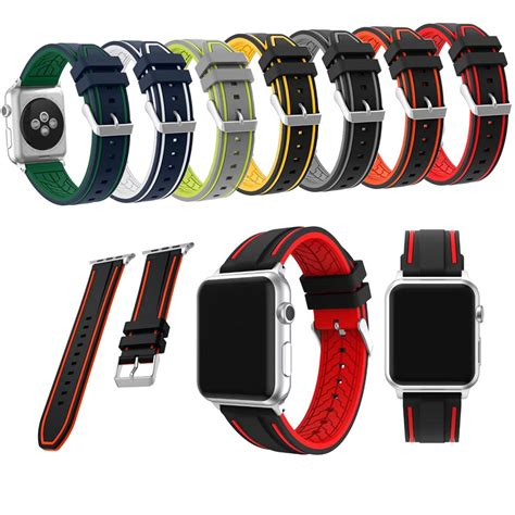 Applewatch Sport Series 2 38 Mm 42mm 38mm for apple series 2 1 sport band silicone for apple band in watchbands