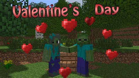 valentines day minecraft school s day minecraft animation