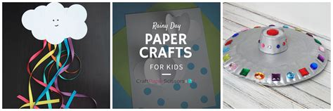 Crafts With Paper And Scissors - rainy day paper crafts for craft paper scissors