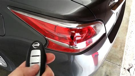 changing the battery in a nissan key fob brake light and battery on nissan altima