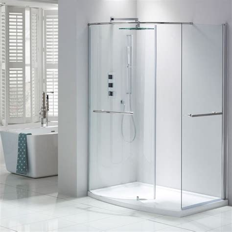 Showers Cubicles In Small Bathroom Aquaglass From Frontline Bathroom Shower Cubicle Direct Divide