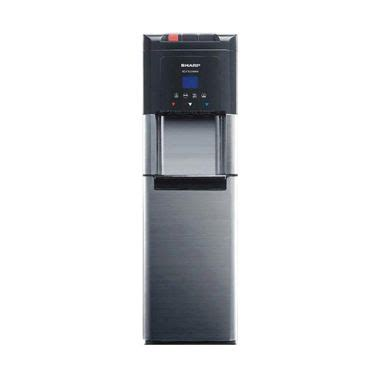 Water Dispenser Sharp Indonesia jual sharp dispenser swd73ehlbk hitam khusus jadetabek