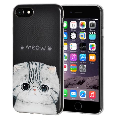 Look Like A Iphone 6 Softcase For Iphone 5 5s Se 6 soft gel premium graphic tpu cover for iphone 6 6s kitten meow tanga