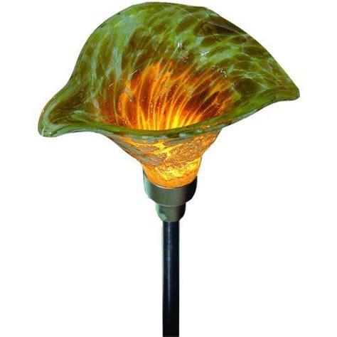 blown glass solar garden lights pin by luke abel on garden lighting