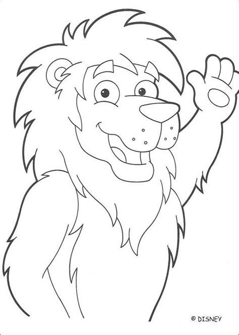 imagenes de leones para pintar dibujos para colorear el le 243 n amigo de dora es