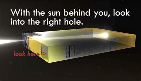 pinhole box no solar eclipse glasses how to make a safe pinhole