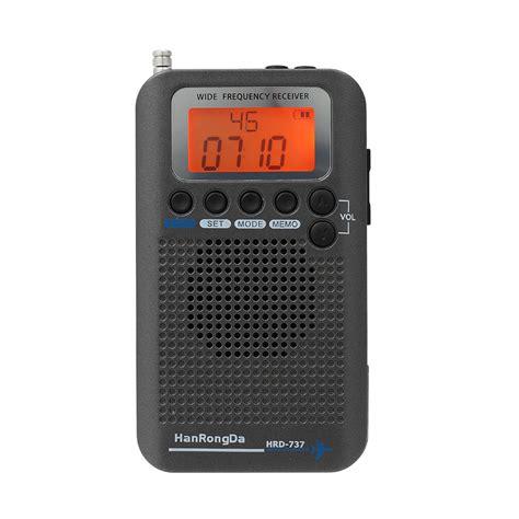 hanrongda hrd  portable full band radio aircraft band