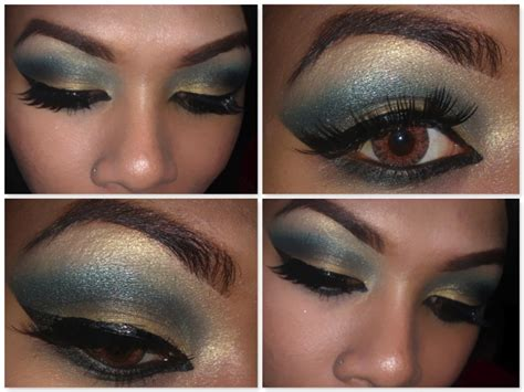 tutorial makeup cleopatra mzkarry s beauty styles tutorial cleopatra makeup look