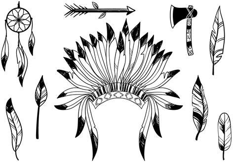 eps native format free native american vectors download free vector art