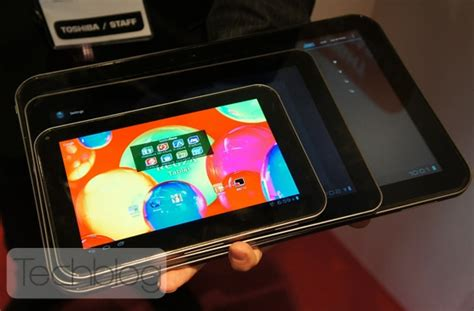 Tv Toshiba Android 29 Inch toshiba s 13 inch android tablet prototype gets a tv tuner