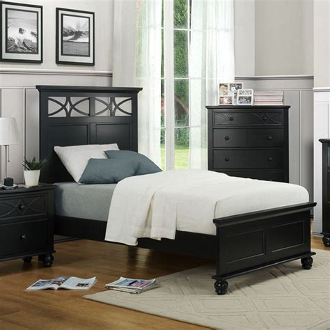 sanibel bedroom set dreamfurniture com 2119tb sanibel bedroom set black