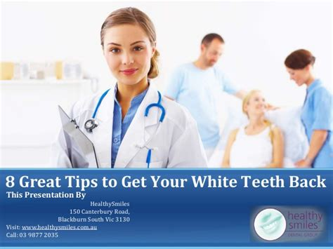 8 Great Babysitting Tips by 8 Great Tips To Get Your White Teeth Back