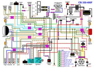 cb400f wiring diagram 4into1 vintage honda motorcycle parts