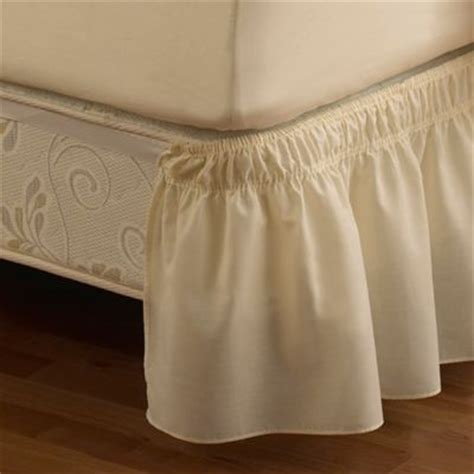 bed bath and beyond bed skirts ruffled solid adjustable bed skirt bed bath beyond