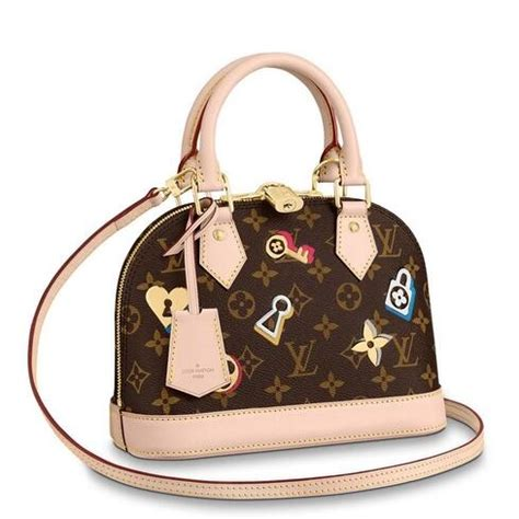 louis vuitton alma bb bag monogram canvas