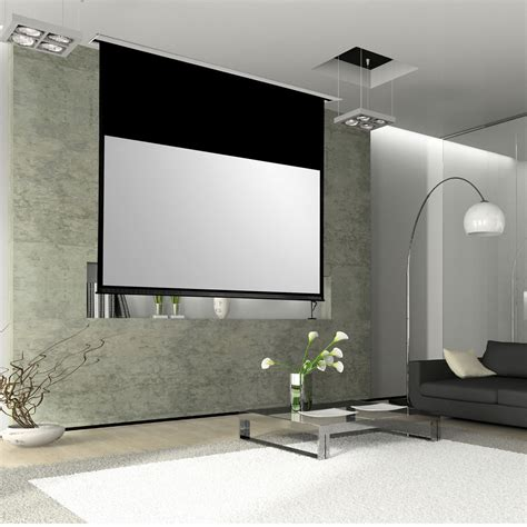 Installation Ecran Videoprojecteur by Lumene Showplace Premium 240c Ecran De Projection Lumene