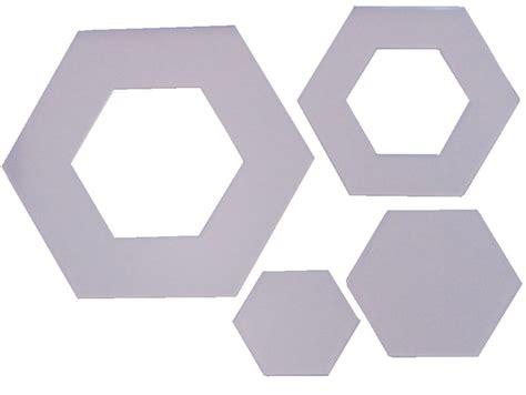 Hexagon Template Nested 5 Sizes 715363080339 Hexagon Website Template