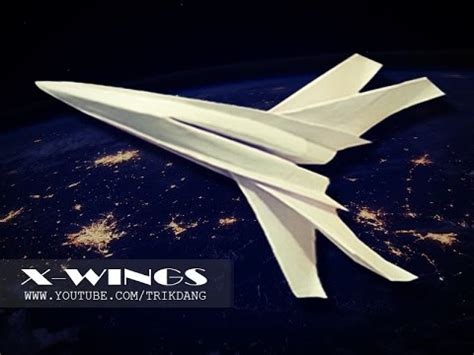 How To Make A Wars Paper Airplane - how to make a paper airplane wars paper plane that