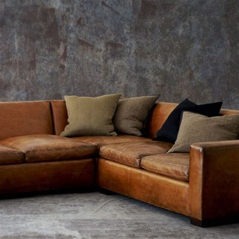 ralph lauren leather sofa ralph lauren sectional couch house pinterest
