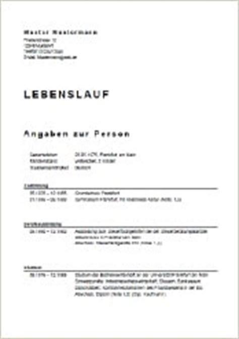 Lebenslauf Vorlage Hausmeister Bewerbung Kassiererin Bewerbung