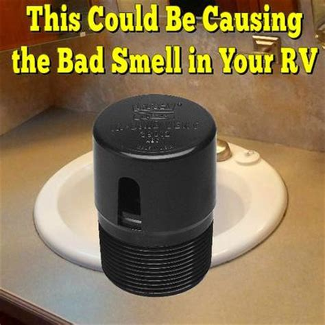 Foul Smell Coming From Bathroom by Bad Odor Coming From Rv S Bathroom Sink Cabinet