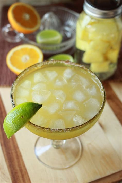 pineapple margarita pineapple margarita with infused tequila