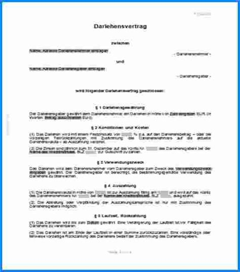 kreditvertrag vorlage pdf bewerbung 3 privater darlehensvertrag muster invitation templated