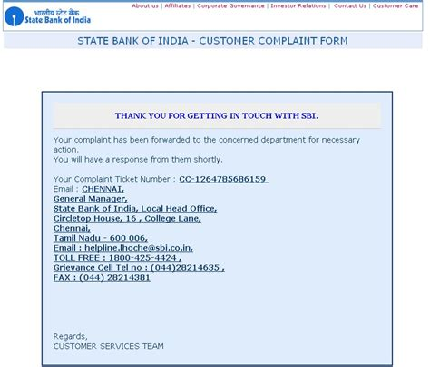 Complaint Letter Against Sbi Bank Sbi Ppf Account State Bank Of India Icomplaints In