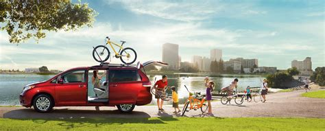 toyota family car the toyota sienna has the room and comfort your family