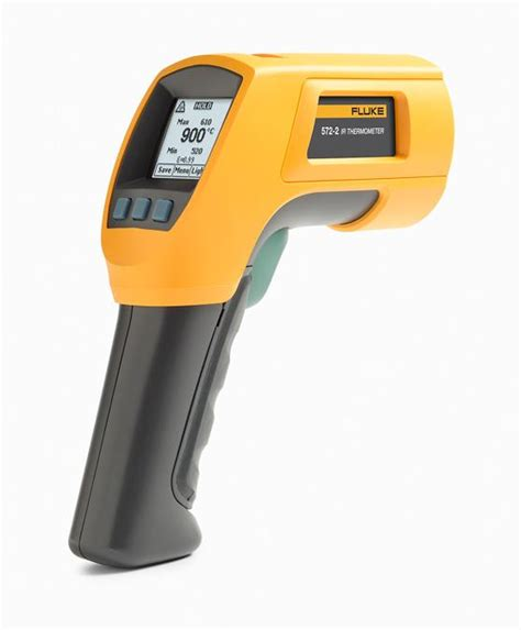 Thermometer Laser fluke 572 2 high temperature infrared thermometer with dual laser home improvement