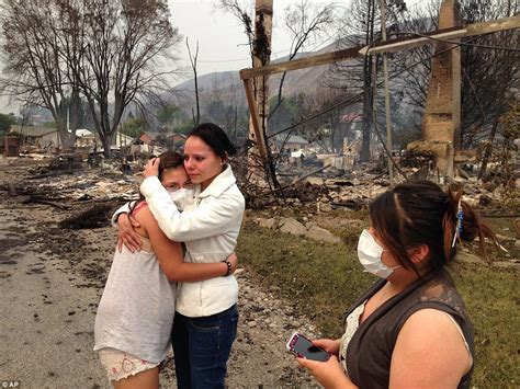 their home pateros washington residents describe how wildfire burned town to the ground daily mail