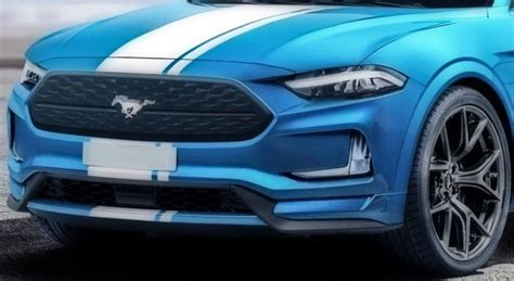 Ford Mach 1 2020 by 2020 Ford Mustang Mach1 Is A Performance Electric Suv