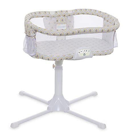 halo bed halo 174 bassinest swivel sleeper luxe series in lemon drop bed bath beyond