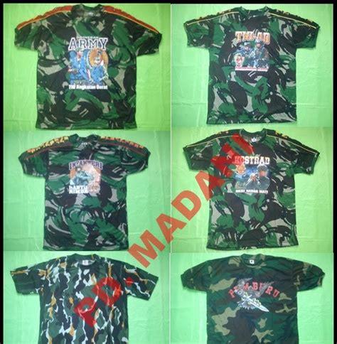 Kaos Army Kaos Airsoftgun Kaos Loreng Kaos Militer Kaos Tentara Desser grosir konveksi perlengkapan militer sipil kaos loreng tni