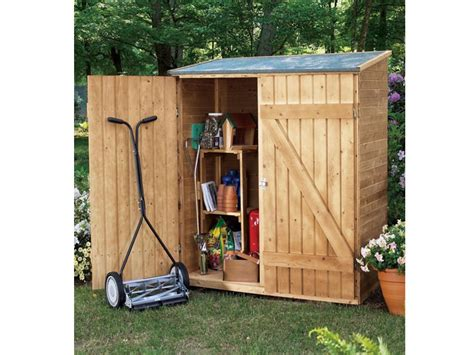 Tool Shed by Tool Shed Shed Plans Package