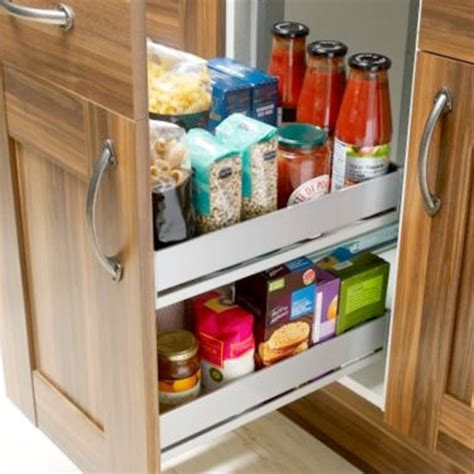 Storage Solutions For Kitchen Cabinets Drawer Organiser From B Q Kitchen Storage Ideas Small Kitchen Solutions Photo Gallery