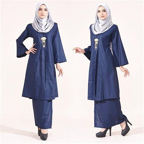 Baju Kurung Labuh its classic comfortable awesome cutting miss lulu kebaya available in 6 color size