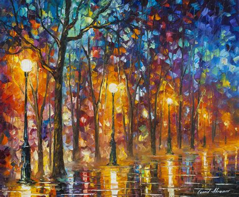 5 Painting Knife by 5am Lights Palette Knife Painting On Canvas By