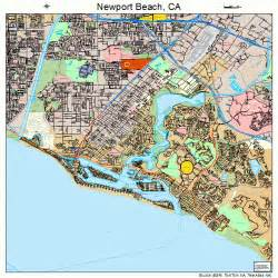 newport california map 0651182
