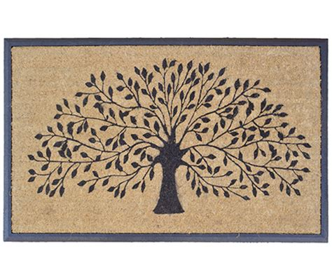 Doormats Australia by 120x75cm Tree Of With Rubber Edge