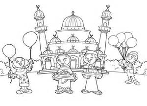 ramadan coloring pages kids colouring