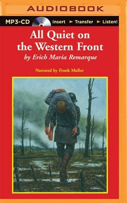 All On The Western Front Book Report by All On The Western Front Mp3 Cd Tattered Cover Book Store