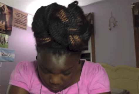 how to put box braids in bun 6 gorgeous box braids styles you ll fall in love with in 2017