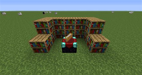 minecraft bookshelf placement the best shelf design