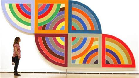 imagenes de obras minimalistas protractor series 1967 1970 frank stella