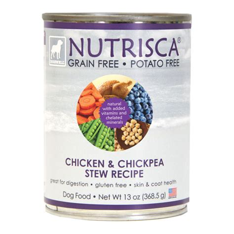 nutrisca food chicken and chickpea stew canned food