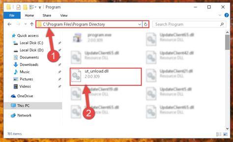 Ut Directory Ut Unload Dll For Windows 10 8 1 8 7 Vista And Xp