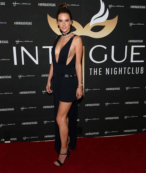 Alessandra Ambrosio Does Vegas by Alessandra Ambrosio At Getaway At Intrigue Nightclub