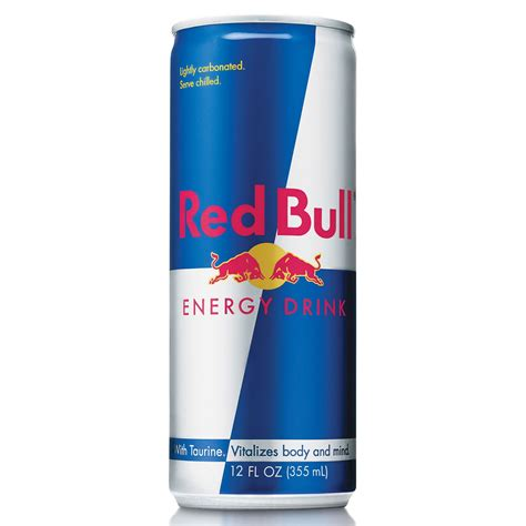 8 oz energy drinks bull