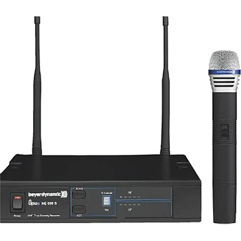 Mic Wireless Beyermic Uhf X800 beyerdynamic opus 669 wireless handheld microphone system 700681